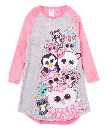abf4be47b14 Beanie Boo pink nightgown  BeanieBoos  ad
