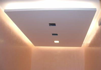 Immagine controsoffitti pinterest illuminazione for Controsoffittature in cartongesso moderne