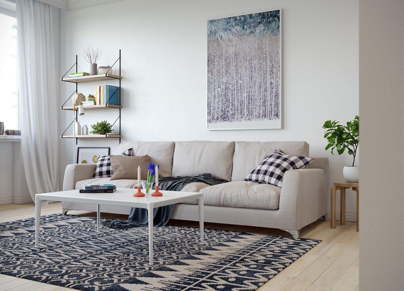 Decoración abierta | Decoracion pisos pequeños, Estilo nórdico y ...