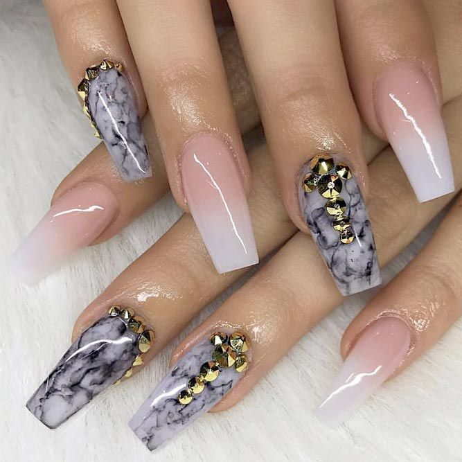 With Nails Coffin Designs You Will Have A Stylish And Posh Look