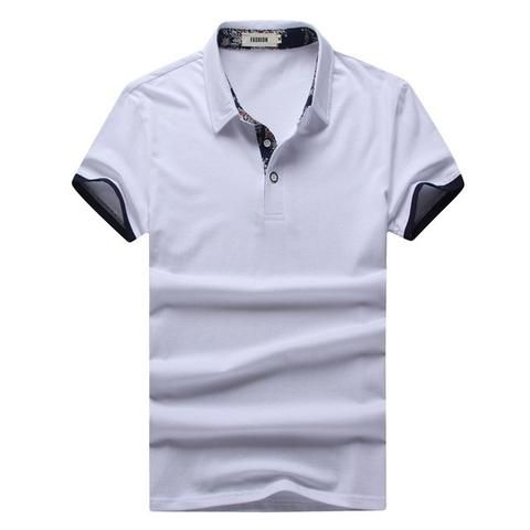 Polo Shirt Business & Casual, White