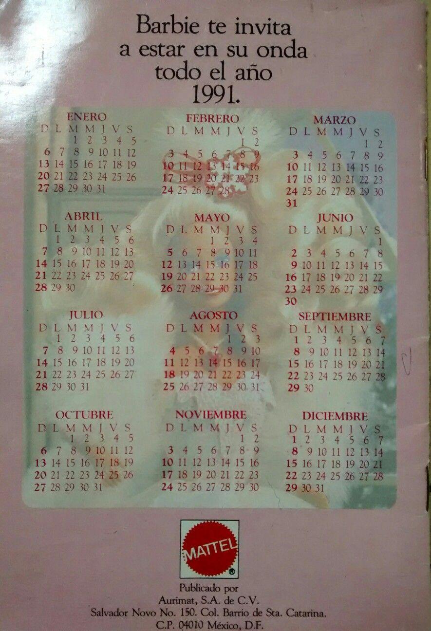 Calendario Barbie