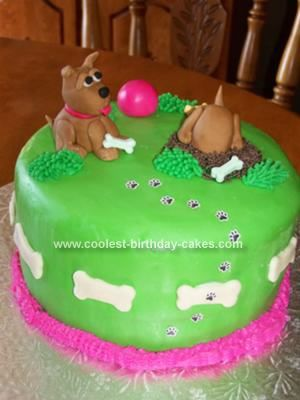 How to make homemade dog birthday cake