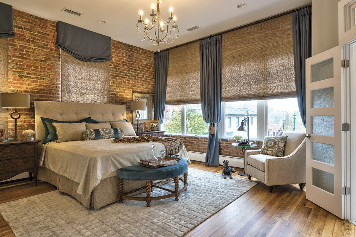 Southern Chic Rustic Loft In Hendersonville   Master Bedroom U2013 Carolina  Home + Garden Magazine