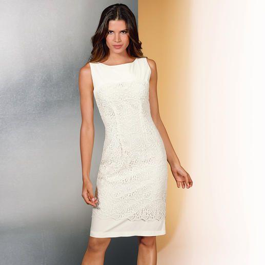 Kleid plauener spitze