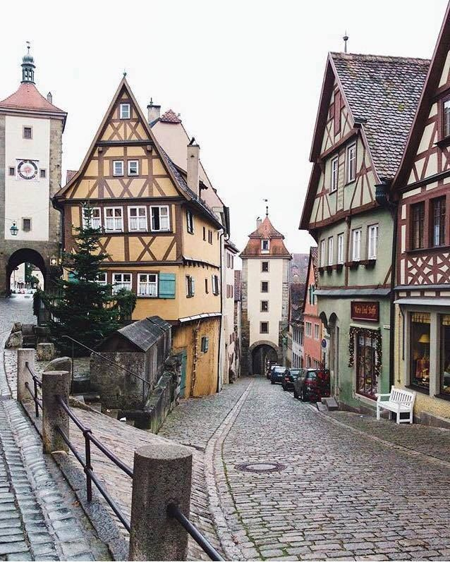 Rothenburg ob der tauber baviera alemania countries pinterest travel places y travel - Rothenburg ob der tauber alemania ...