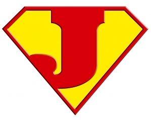superman logo avec un j igolem superman logo j il ny a