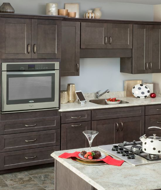 Jamestown Slate Kountry Wood Products Kitchen Cabinets In Bathroom Wood Cabinets Wood