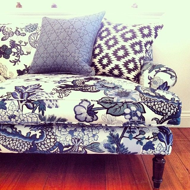 Black Spiro Chiang Mai Dragon Sofa In Blue Furniture In 2018