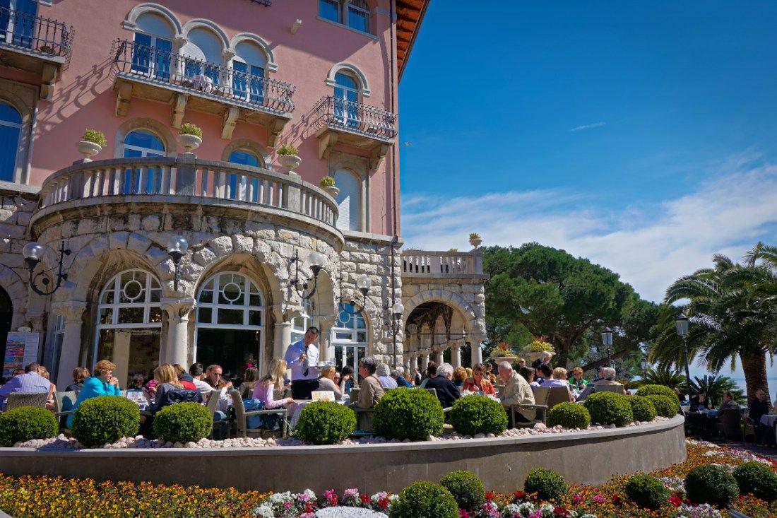 Seaside Blues In Opatija Seaside Resort Croatia Seaside