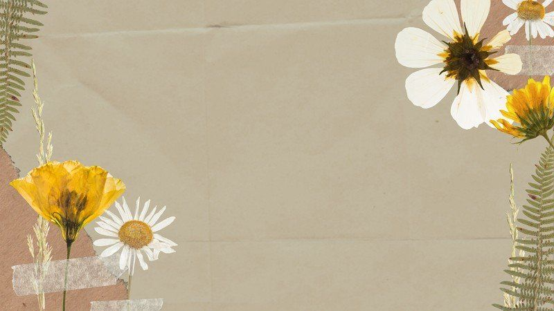 Customizable Zoom Virtual Backgrounds You Can Download For Free Canva Background Templates Background Floral Flower wallpaper zoom zoom backgrounds
