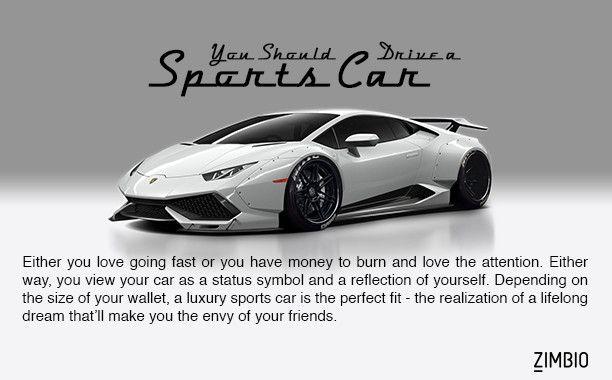 What Kind Of Car Should You Drive Car Quiz Car Sports Car