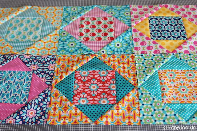 kunterbuntes fr hlings patchwork quiltbl cke n hen quilten und patchwork. Black Bedroom Furniture Sets. Home Design Ideas