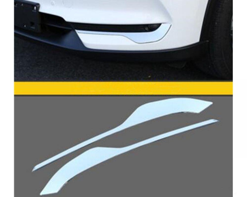 Chrom Nebelscheinwerfer Augenbrauen für Mazda3 2014-2016 Zubehör Streifen Bootsport-Teile