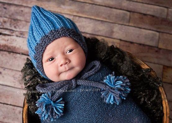 d8ce11c3f6b6 livin-on-lovee   baby  hat  knit  basket  cute  adorable  precious ...