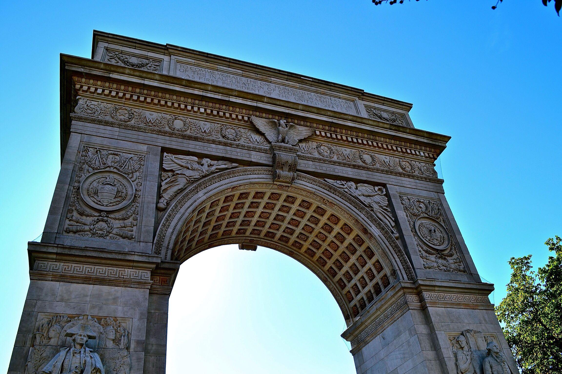 Washington Square Arch Nyc