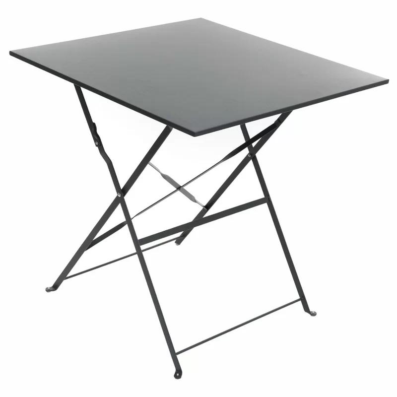 Klappbarer Bistrotisch Nifelheim Aus Stahl Bistrotisch Kleiner Gartentisch Tisch