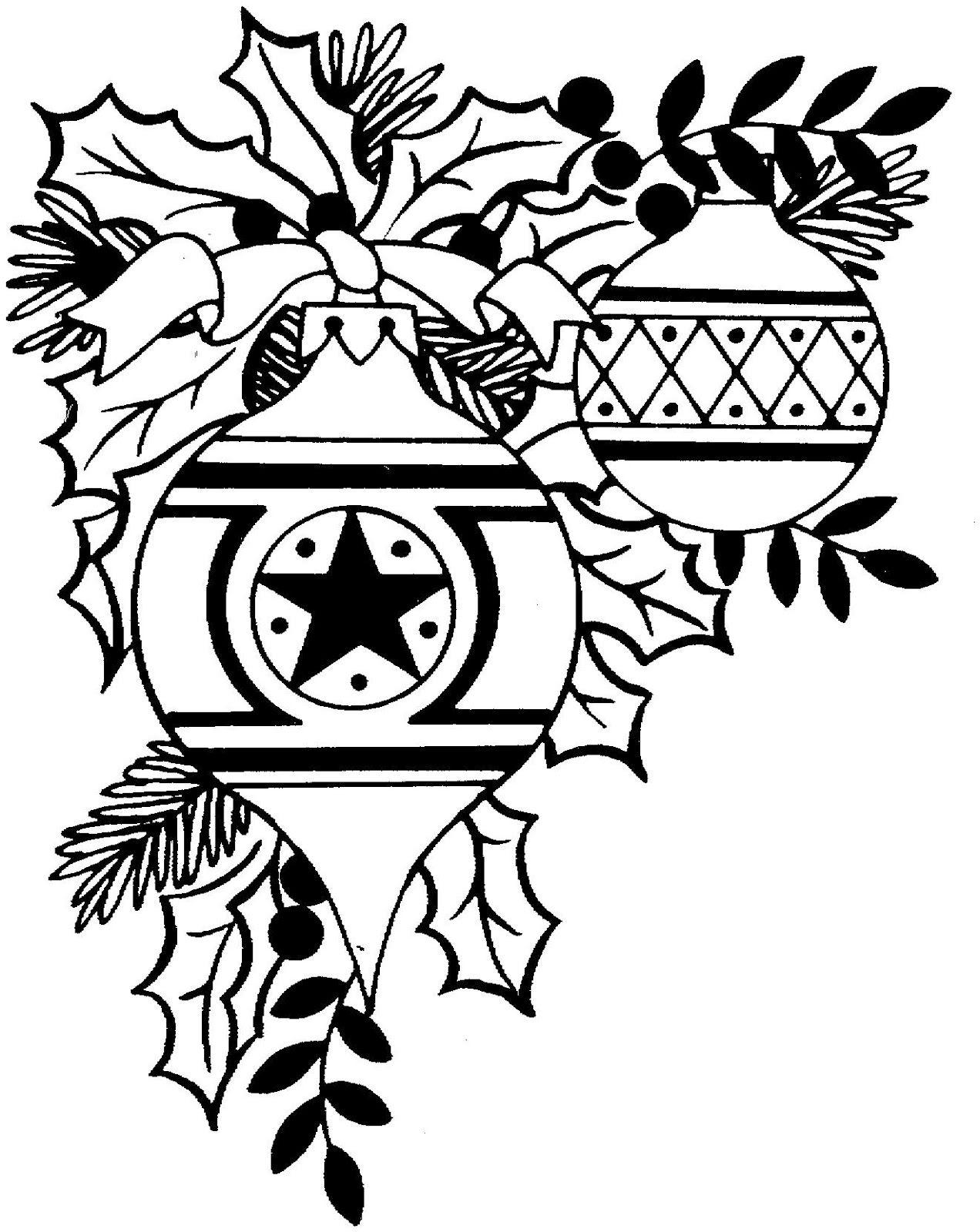 Black And White Christmas Clip Art