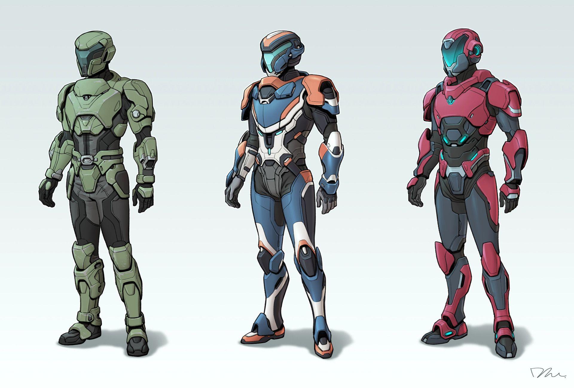 Artstation Sci Fi Suit Concept Mina Lee Futuristic Armour Sci Fi Armor Sci Fi Concept Art