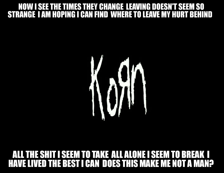 Antiquitäten & Kunst Korn Alone I Break Nu Metal Band Poster Music Star Black White Photo Lyrics Kunst