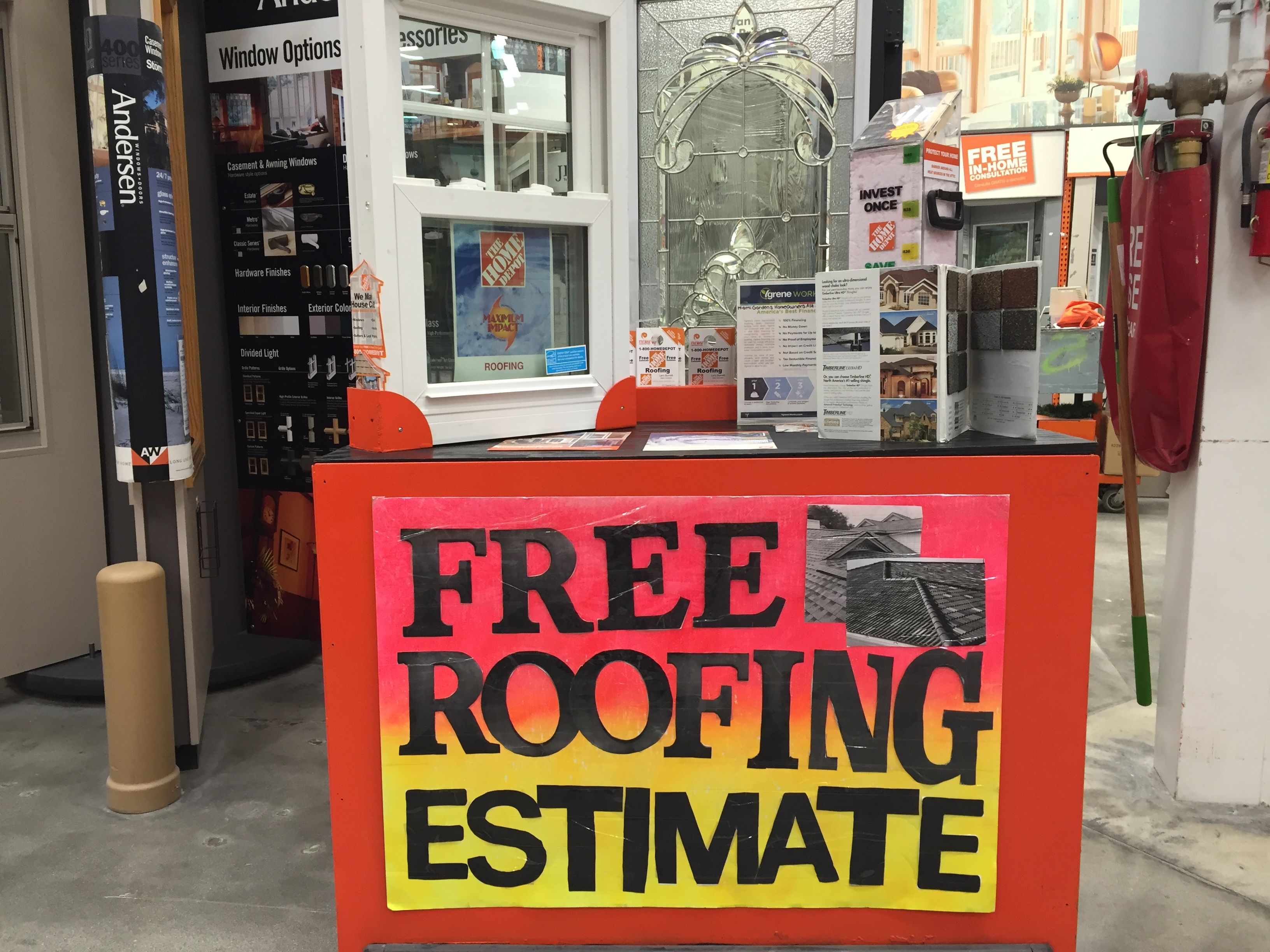 Diyhomedepot Signs Home Depot Store0209 District265 By Mary Home Depot Projects Home Depot Roofing Estimate
