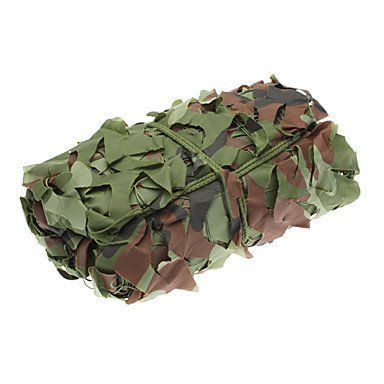Durable Canvas and Nylon Material Mesh for Sun Shading(Camouflage) #00767907