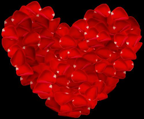 Rose Petals Heart Images For Valentines Day Heart Art Rose Petals