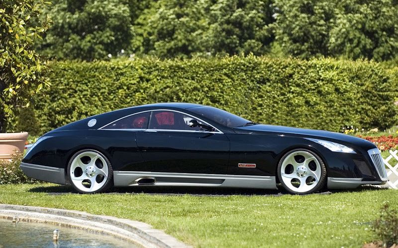 Mercedes Benz Maybach Exelero 8 Million Most Expensive