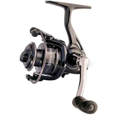 Ardent Krappie King Finesse Spinning Reel-500 Size, Black