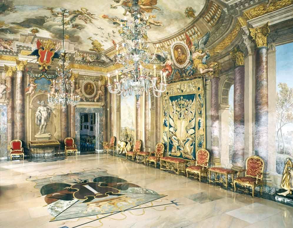 Sala delle Feste, Appartamento della Principessa Isabelle ...