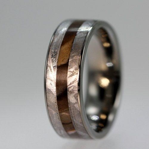 Petrified Wood Inlay Ring