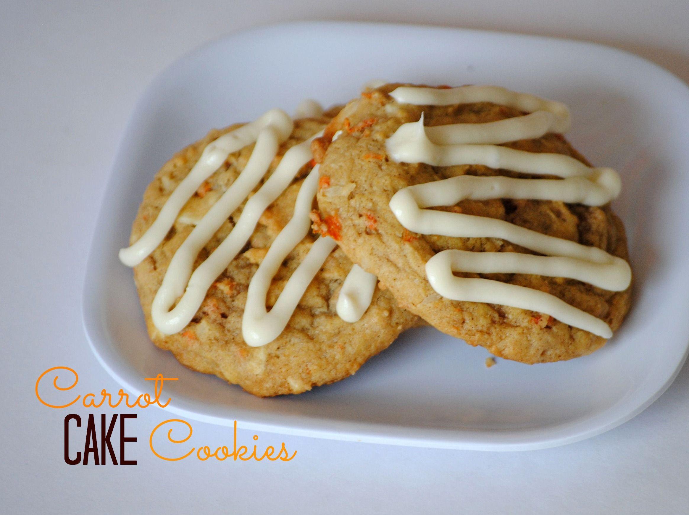 Carrot cake cookies recipe carrot cake cookies yummy