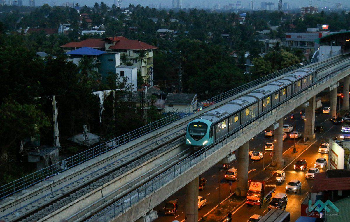 kochi #kochiMetro #Twitter   Kochi   Kochi metro, Kochi