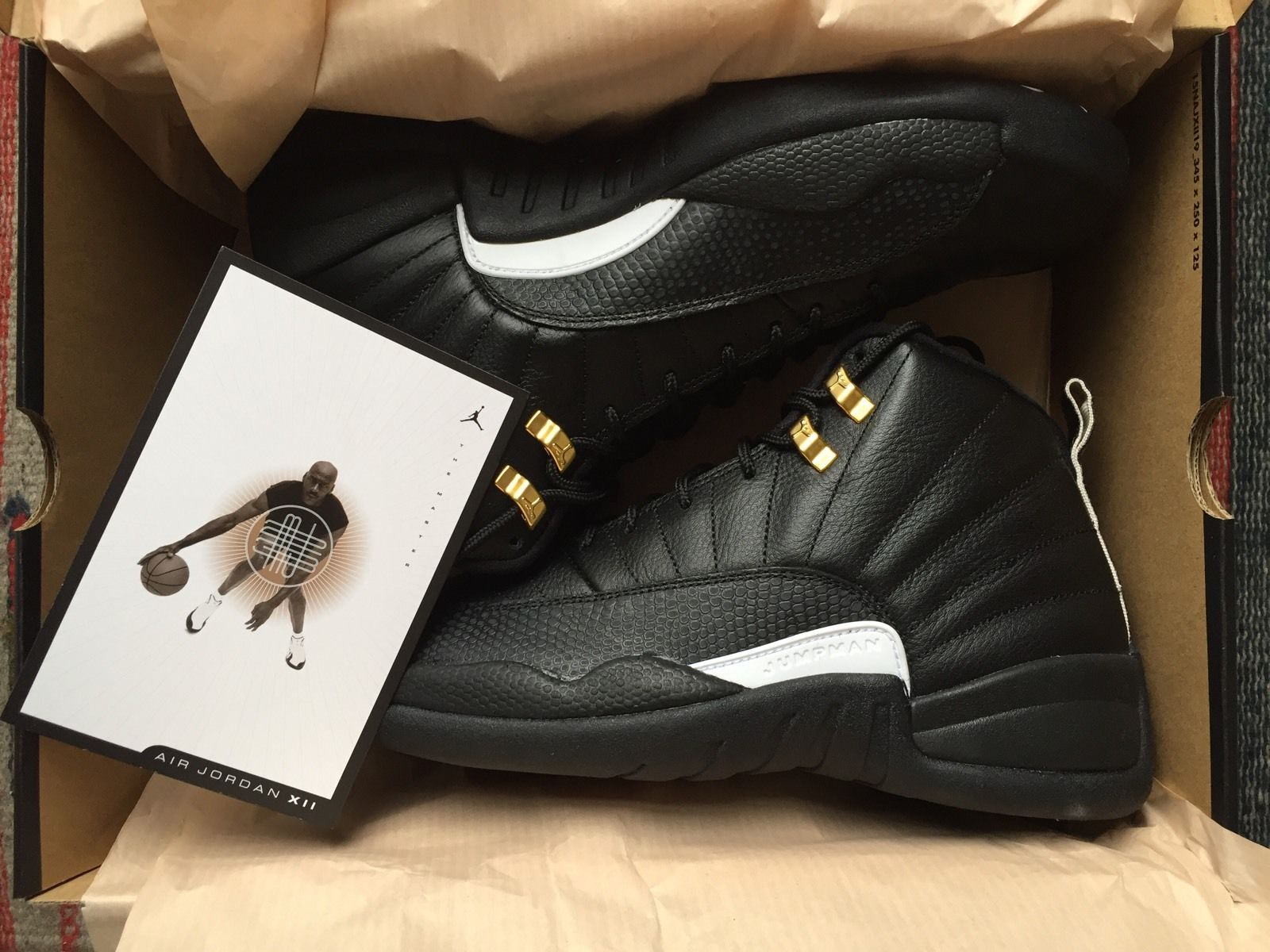 fe6e9a258b07 Nike Air Jordan Retro 12 XII The Master 2016. New w  Receipt. Size 9.5 US   receipt  size  master  retro  jordan  nike