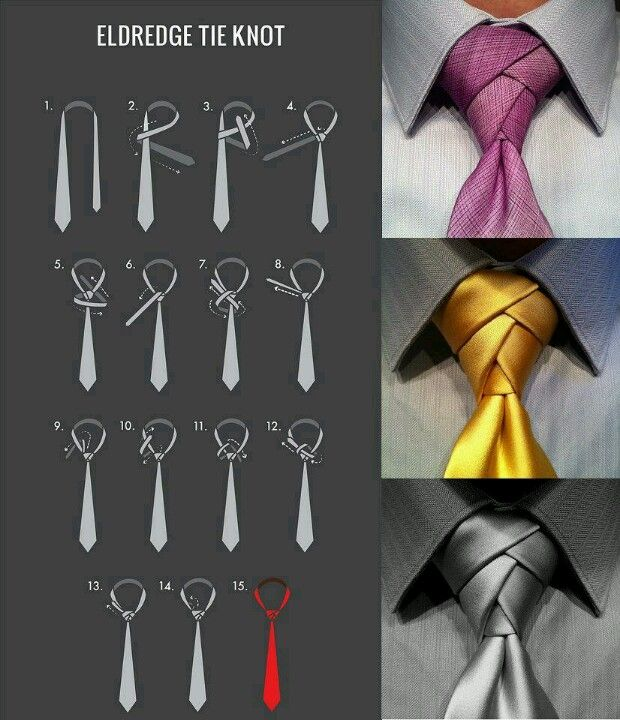 Krawatte Binden, Krawatte