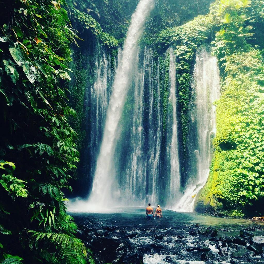 Sendang Gile and Tiu Kelep Waterfalls in Lombok | Waterfall ...