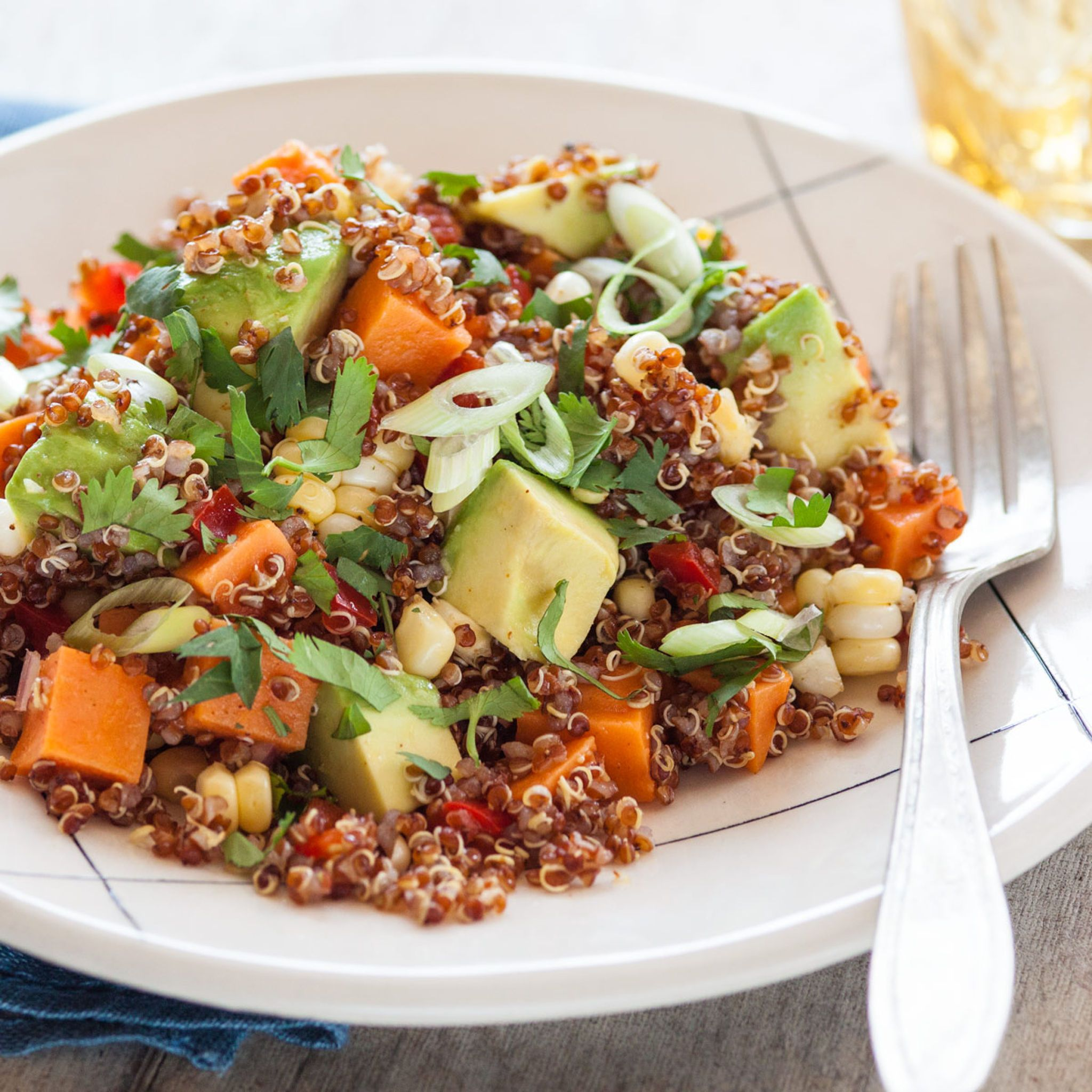 Southwestern Sweet Potato & Quinoa Salad