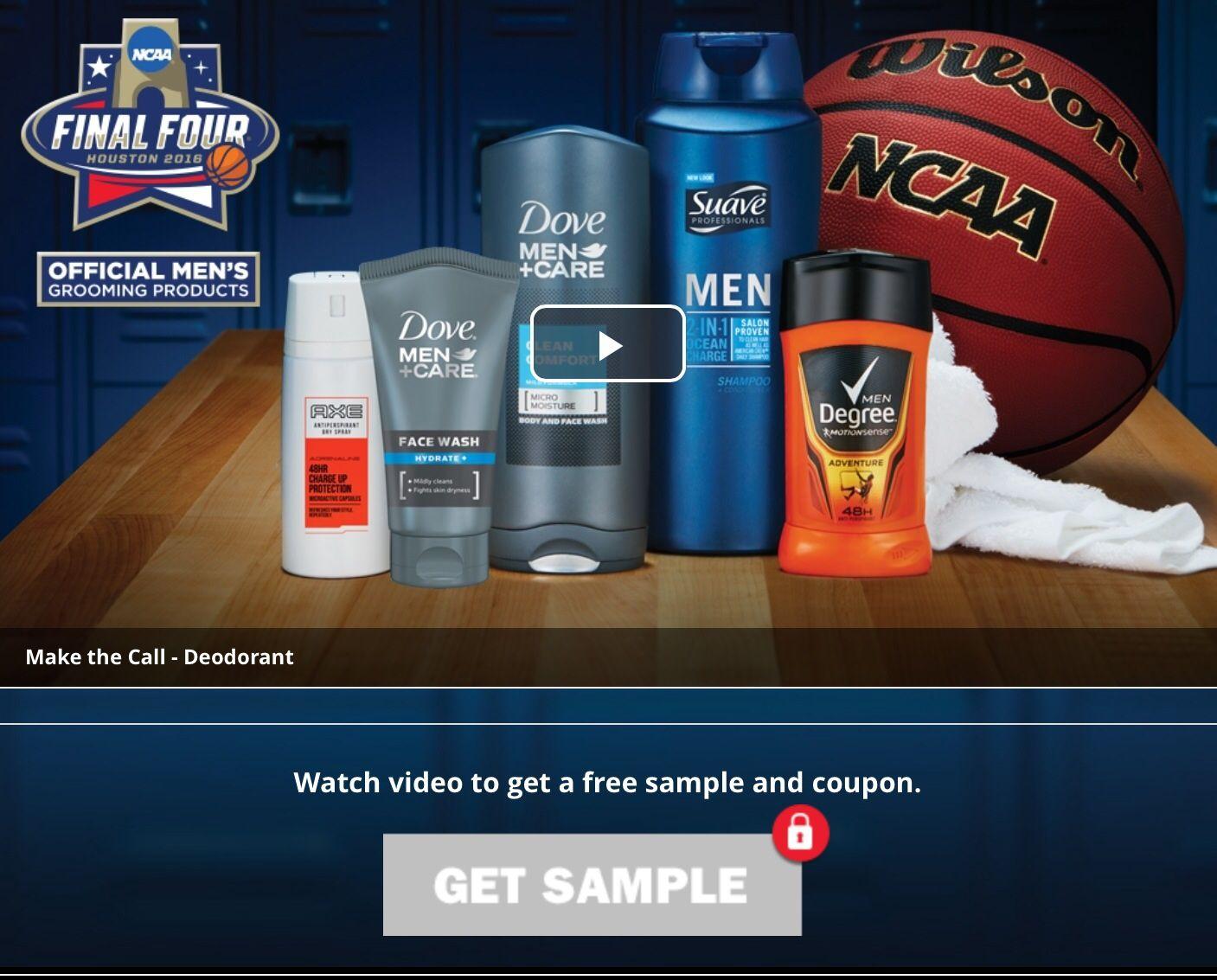 Free Dove Men Care Sensitive Shield Body Wash And Axe Dark Deodorant Bodyspray Score 150 Ml Twin Pack Sample Of Temptation