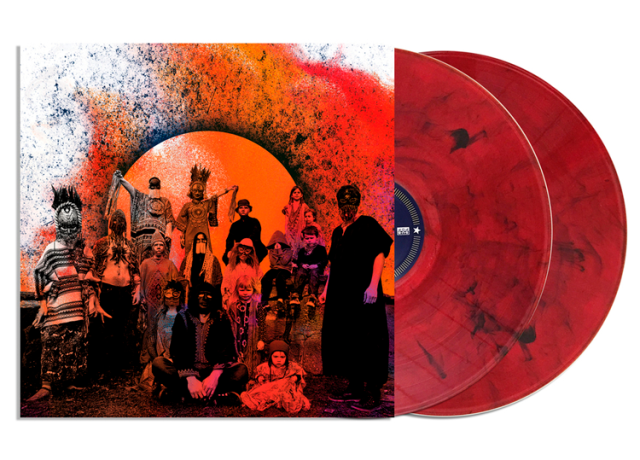 Pre Order Goat Requiem Limited Psych Coloured Double Lp Loser Edition Translucent Red And Black Coloured Double Lp Indies Only Orange Double Lp Vinyl Color Black And Red
