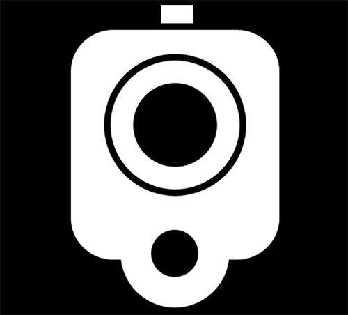 INCH Pistol BARREL Decal StickerHand GunGREAT For - Custom gun barrel stickers