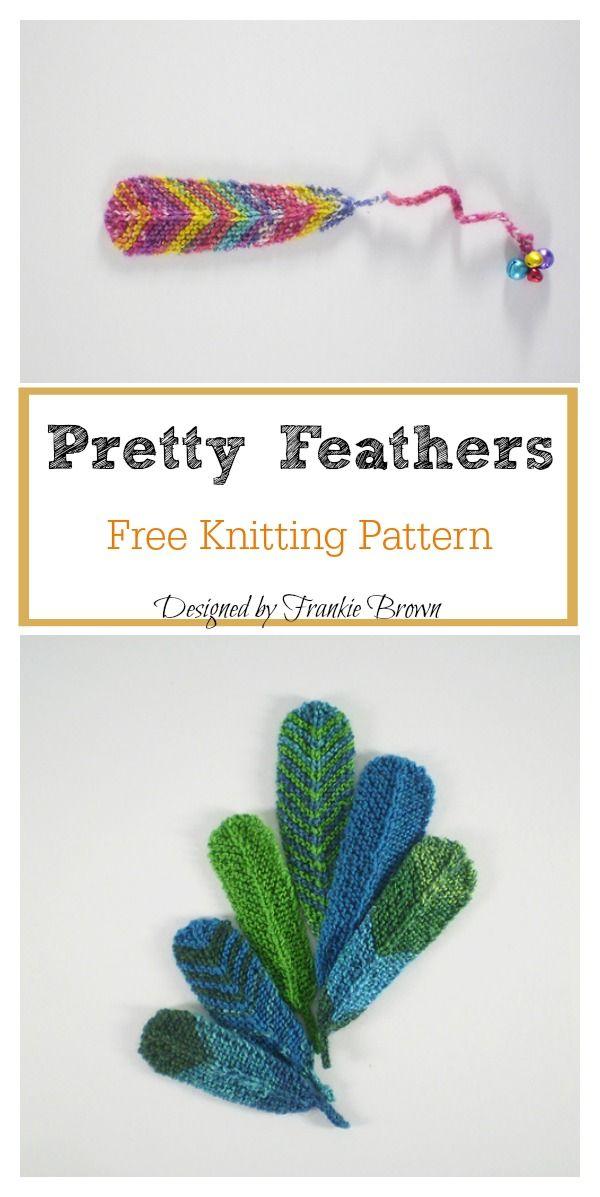 Pretty Feathers Free Knitting Pattern