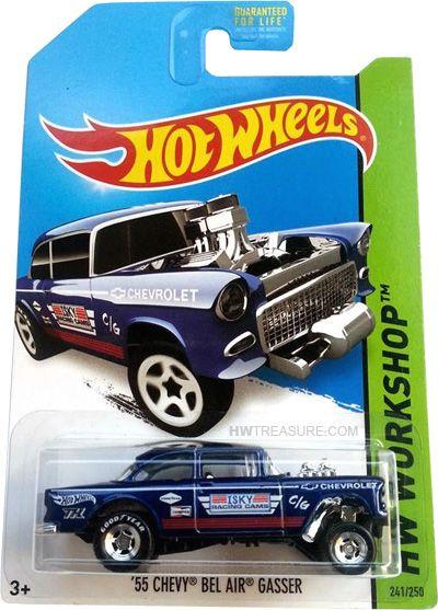 55 Chevy Bel Air Gasser Hot Wheels Carros Hot Wheels Hot