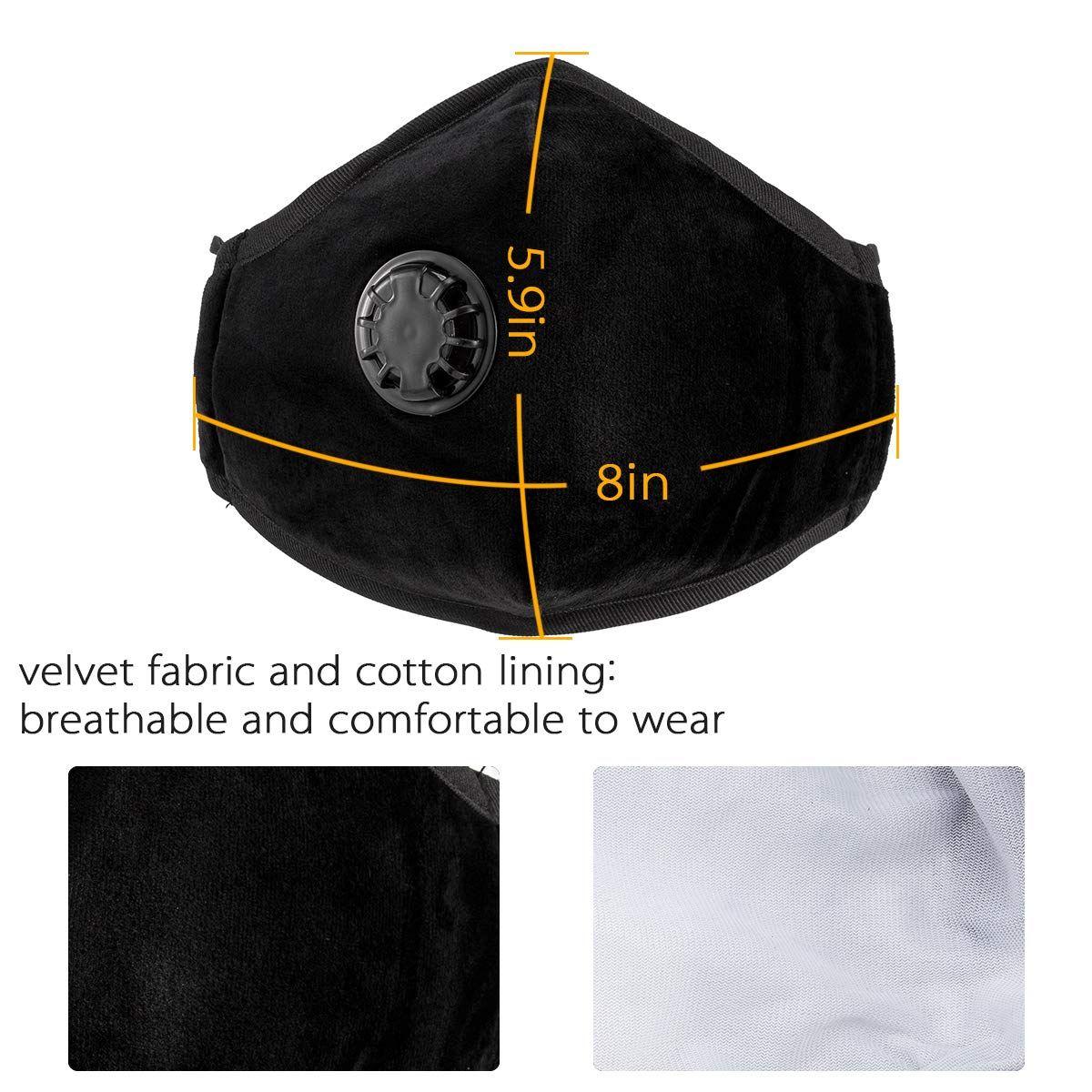 n95 respirator mask 8 filters
