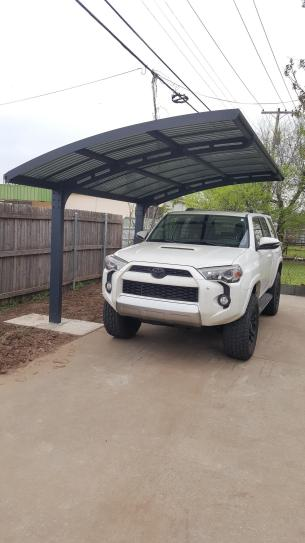 Arizona 5000 Breeze Carport Review Home Depot I Installed It Almost Entirely Alone Although Assis Carport Designs Parking Design Polycarbonate Roof Panels