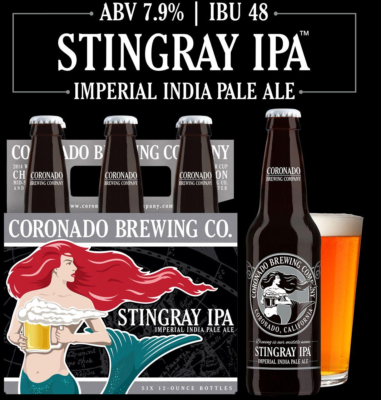 Stingray IPA Coronado Brewing Company | Craft beer