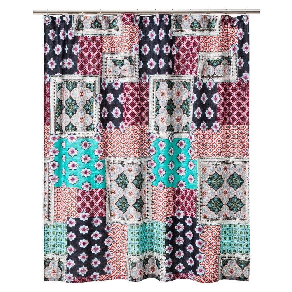Boho Boutique Pompano Shower Curtain