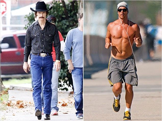 Image result for matthew mcconaughey transformation