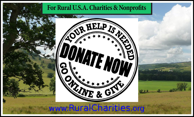 Grow your organization with increased memberships, donations, and public presence. Free websites - only for rural U.S. nonprofits. RuralCharities.org #Nonprofit #Fundraising #Charity