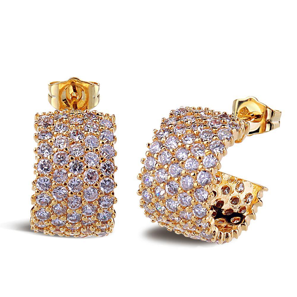 Best seller Classic C shape earrings Ready to wear for all season ...