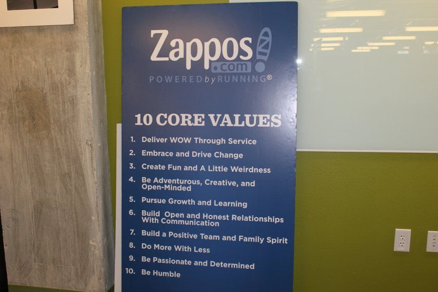 Zappos 39 new las vegas office is meant to look unfinished for Zappos office design